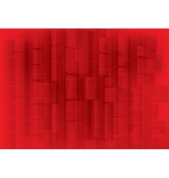 red bokeh abstract vector image vector image