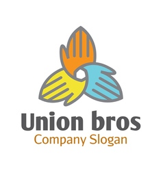 Union bros design vector