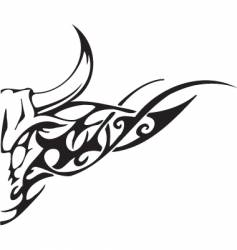 Bull design vector