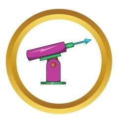 Harpoon for fishing icon vector