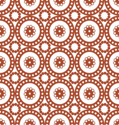 patterns seamless circles 01 vector image vector image