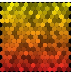 Seamless abstract hexagon background vector image vector image