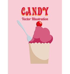 Sweet food design vector