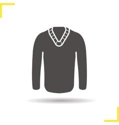 Pullover icon vector