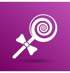 Candy lollipop logo symbol icon graphic vector