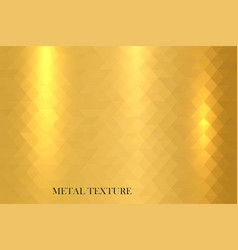 metal gold shiny texture vector image