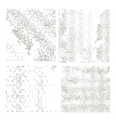 Set of Halftone Dots vector image vector image
