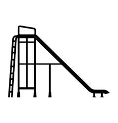 Slider playground recreation game icon vector