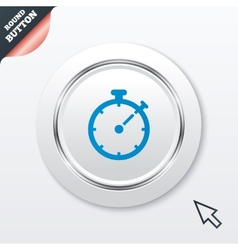 Timer sign icon stopwatch symbol vector