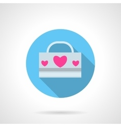 Love pack abstract round icon vector