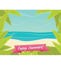 Summer or spring time background vector
