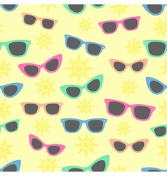 Summer and sunglasses vector
