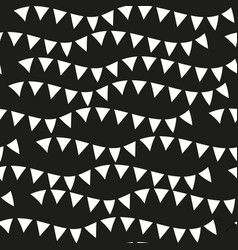 Black monochrome seamless patterns geometric vector