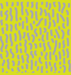 Seamless pattern with dashed lines vector