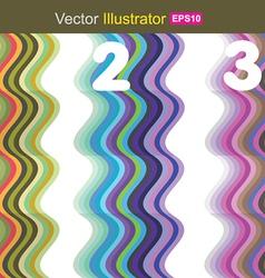 Wave color vector