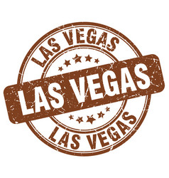 Las vegas stamp vector