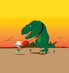 Playing with t rex vector