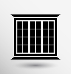 window icon button logo symbol concept vector image