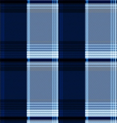 Blue scotch textile background vector
