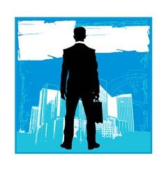 Business men sillhouettes vector