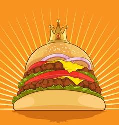 King burger vector