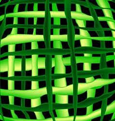 Watermelon grid vector image