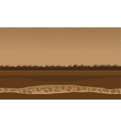 Fields scenery brown bakcgrounds game vector