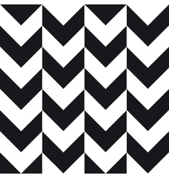 big chevron background black white vector image