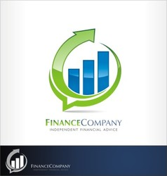 Finance logo vector