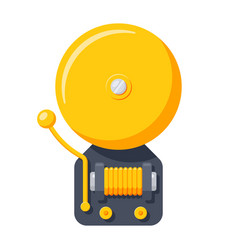 Alarm bell icon vector