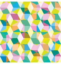 Eighties seamles background vector image
