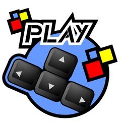 Computer game symbol vector