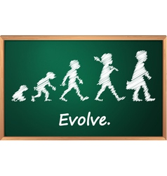 Evolution vector