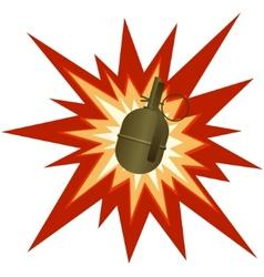 Assault grenade vector