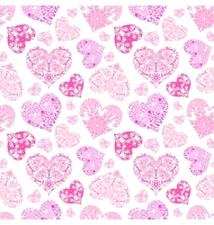 Bright openwork seamless pattern vector