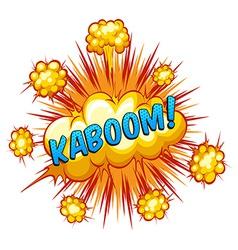 Kaboom vector