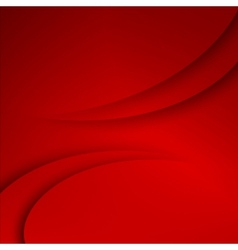 Red abstract business background vector image