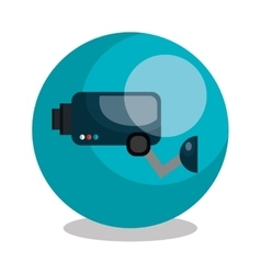 security cam design vector image