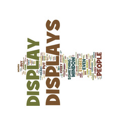 The art of display text background word cloud vector