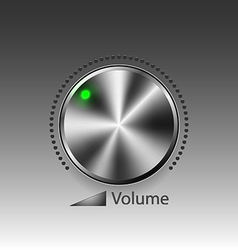 Volume button vector image