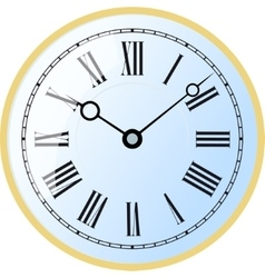 Watch roman numeral vector