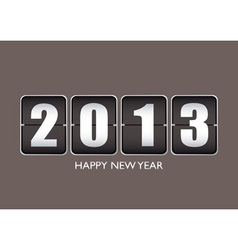 Happy new year 12013 vector image