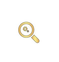 Business analysis computer symbol vector