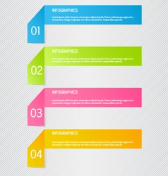 Modern inforgraphic template can be used for vector