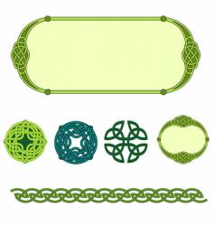 celtic symbols vector image
