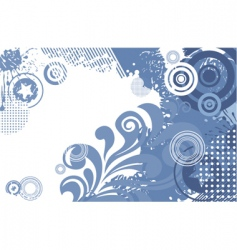 collage border vector image