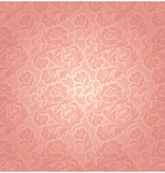 floral pattern background vector image vector image