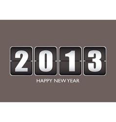 Happy new year 12013 vector image vector image