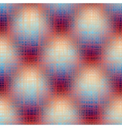 Transparency texture on plaid background vector