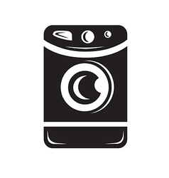 Clothes washer icon vector image vector image